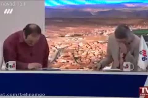 کلیپ اجرای طنز مهران غفوریان و جوادرضویان در برنامه سه شو
